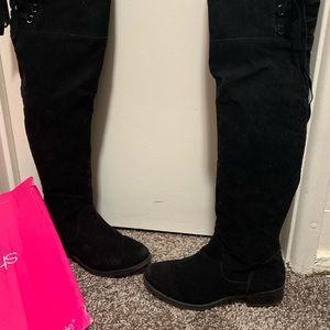 Shoedazzle over the knee boots